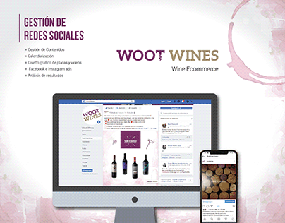 Woot Wines | Redes Sociales