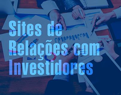 Sites de Relações com Investidores