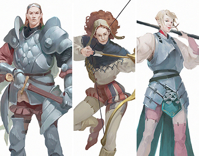 Medieval characters