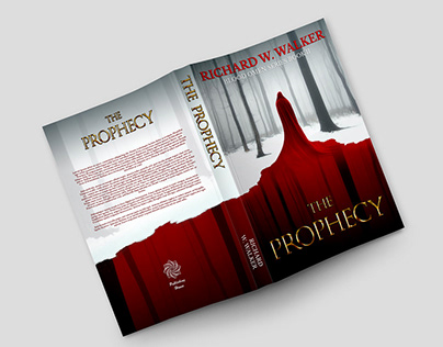 """Book Cover Design - """"The Prophecy"""""""