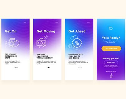 Banking App Onboarding Screens
