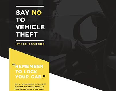 Vehicle Theft Campaign