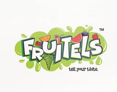 Fruitels Juices Logo Design