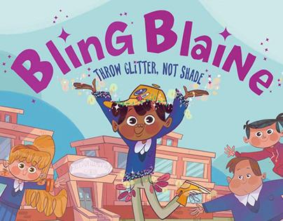 Bling Blaine-Throw glitter, not shade