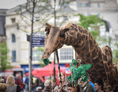 VIP Puppets Dolly The Giraffe Promo Film