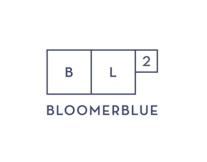 BloomerBlue | Logo and identity design