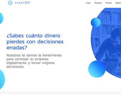 Sitio Web StartOp.co