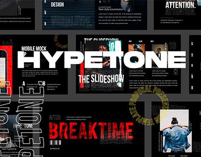 HYPETONE - Urban Style Powerpoint