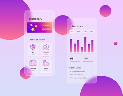 Design for a mobile app