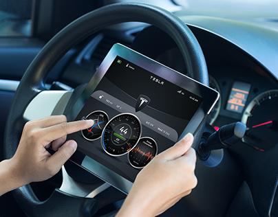 Tesla Android Dashboard Demo