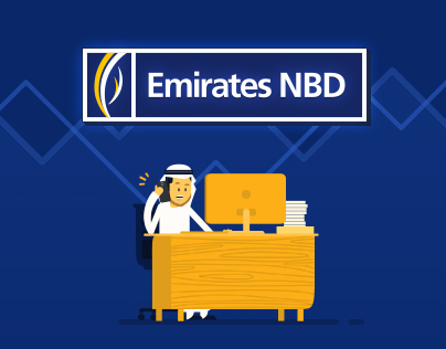 Emirates NBD Website & eBroker App