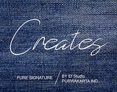 Creates – FREE FONT