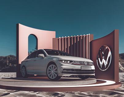 Volkswagen | New Passat | Car Booth