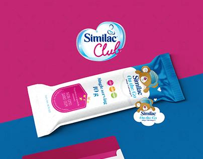 Similac Club Emailer + Packaging Design