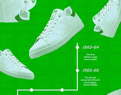 Adidas Stan Smiths Poster