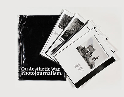 Thesis Design – On Aesthetic War Photojournalism.