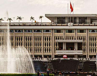 Dinh Độc Lập-Independence Palace in Saigon