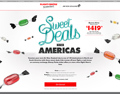 Sweet Deals To The America