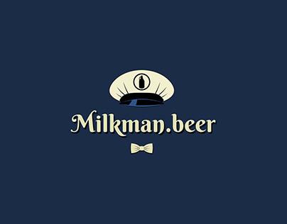 Milkman.beer logo