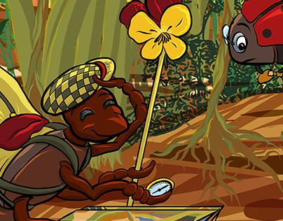 "Wanderameise - ""Hiking ant"""