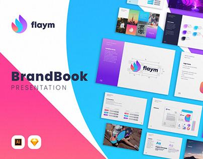 Flaym BrandBook Presentation Template