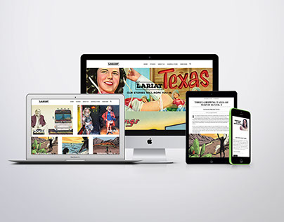 "Lariat Web Magazine ""Our Stories Will Rope You In."""