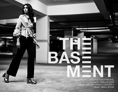 The Basement - Fashion Editorial