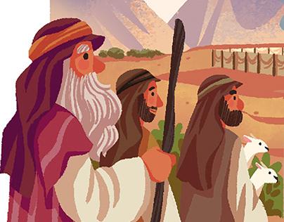 Tzivos Hashem Magazine Illustration