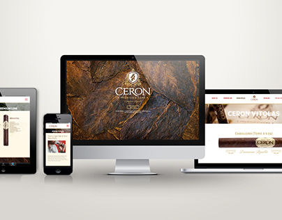 Ceron Premium Cigars Website