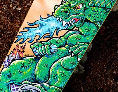 Godzilla Skateboard