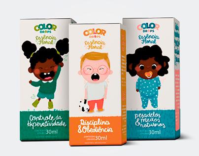 Linha Color Drops | Packaging Design
