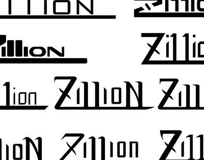 Typography treatment - Zi11ion