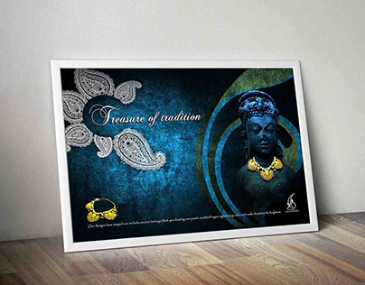 TBZ jewellery ad campaign