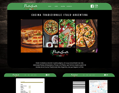 Diseño web - Pietra Santa