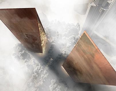 Asian High-Rise designed by Snøhetta