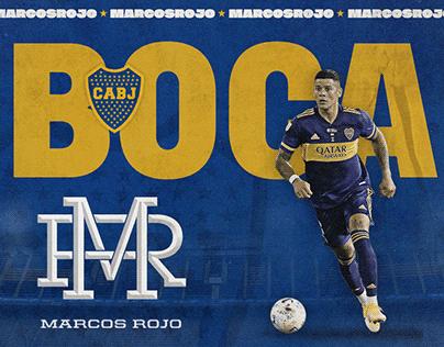 Marcos Rojo / Dorju / Sport Digital Branding