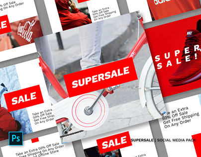 Supersale Social Media Pack