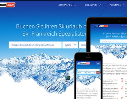 Ski-France.com - Responsive Website