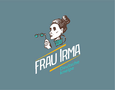 Logo & corporate identity for Frau Irma kneipe
