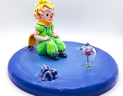 """""""The Little Prince"""" sculpt"""