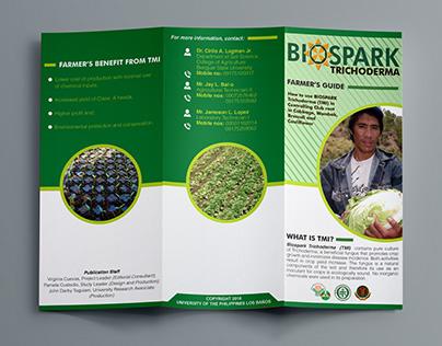 Brochure Template for Biospark Trichoderma