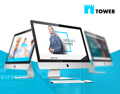 TOWER - Corporate Business Multipurpose WordPress Theme