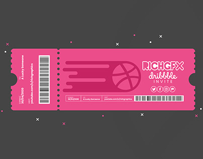 Ticket Design - Adobe Illustrator Tutorial