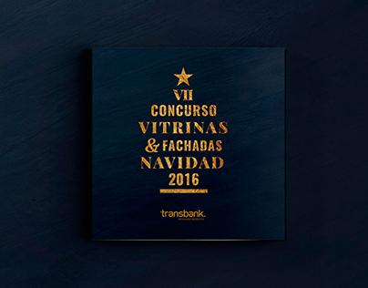 Concurso Vitrinas & Fachadas Navidad 2016 Transbank