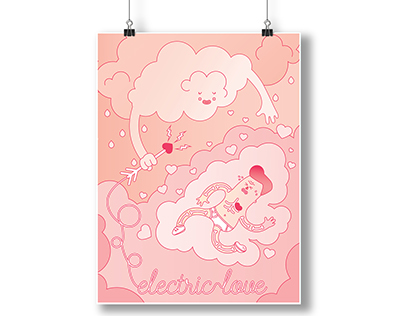 """""""Electric Love"""" Always Summer Poster"""