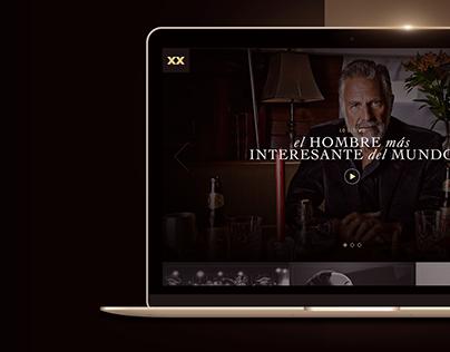 Dos Equis Website