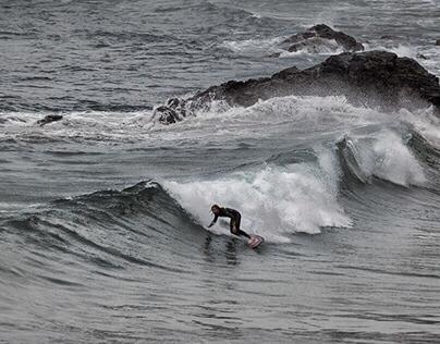 Surfers, Cornwall UK
