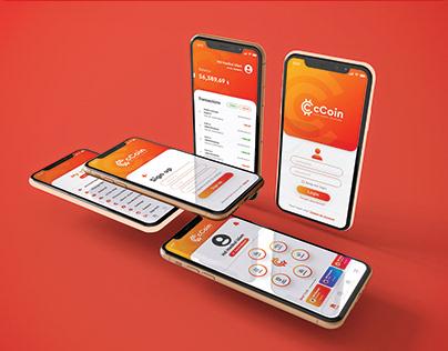 cCoin App UI Design