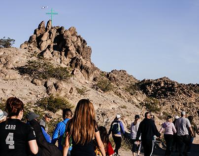 Pilgrimage at Mount Cristo Rey