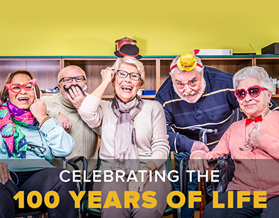 Website Design for Celebrating 100 Years of Life Event.